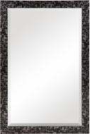 Uttermost 09613 Graphique Gray / Silver / Black Mosaic Wall Mounted Mirror