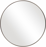 Uttermost 09617 Coulson Iron / Antique Brushed Brass Wall Mirror