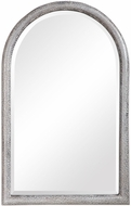 Uttermost 09628 Champlain Aged Grey / Mottled Silver Mounted Mirror