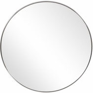 Uttermost 09685 Coulson Brushed Nickel Vanity Mirror
