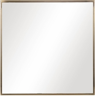 Uttermost 09686 Balmoral Antique Brushed Brass Wall Mounted Mirror