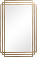 Uttermost 09688 Amherst Contemporary Gold Mirror