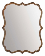 Uttermost 12848 Spadola 30 Inch Tall Traditional Oxidized Copper Frame Mirror