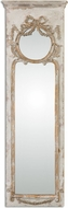 Uttermost 12901 Casella Distressed Antiqued Ivory Wall Mirror