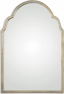 Uttermost 12906 Brayden Plated Oxidized Silver Champagne Petite Silver Arch Mirror