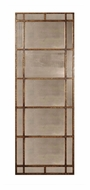 Uttermost 13332-P Avidan Gold Leaf Finish Metal Framed Antique Mirror - 79 Inches Tall