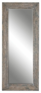 Uttermost 13830 Missoula 83 Inch Tall Aged Wood Frame Full Length Mirror