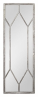 Uttermost 13844 Sarconi Distressed Silver Leaf 78 Inch Tall Wall Mirror