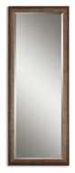 Uttermost 14168 Lawrence 64 Inch Tall Full Length Mirror - Antique Silver Leaf