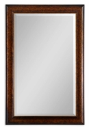 Uttermost 14169 Healy Rustic Bronze 57 Inch Tall Transitional Rectangular Mirror