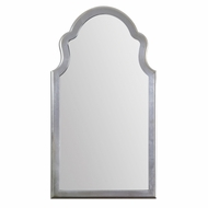 Uttermost 14479 Brayden Lightly Antiqued Silver Leaf Finish 48  Tall Wall Mirror