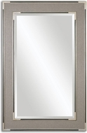 Uttermost 14489 Alfred 41.125  Wide Oversized Gray-Tan Mirror