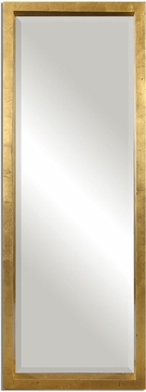 Uttermost 14554 Edmonton Antiqued Gold Leaf Wall Mounted Mirror