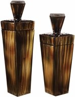 Uttermost 18590 Lisa Brown Steel Containers (set of 2)