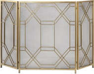 Uttermost 18707 Rosen 4 Door Grey Cabinet