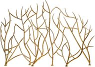 Uttermost 18796 Modern Gold Branches Fireplace Screen