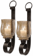 Uttermost 19311 Joselyn Modern Antiqued Bronze Candle Sconce