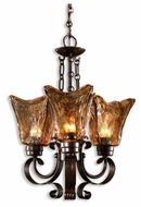 Uttermost 21008 Vetraio 3-Lamp Chandelier