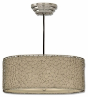 Uttermost 21154 Brandon Pendant Light in Plated Nickel