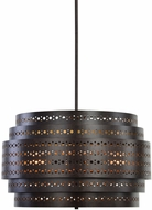 Uttermost 21303 Fuller Contemporary Dark Bronze Pendant Light Fixture