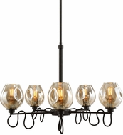 Uttermost 21312 Fritz Modern Manhattan Chandelier Light