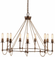 Uttermost 21321 Lyndhurst Contemporary Industrial Chandelier Light