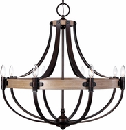 Uttermost 21329 Dubois Bronze Chandelier Light