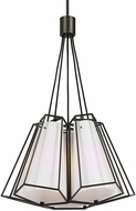 Uttermost 21509 Kiruna Modern Sand Textured Black Pendant Light