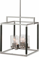 Uttermost 21511 Newburgh Contemporary Polished Nickel Pendant Lamp