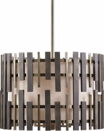 Uttermost 21517 Myers Contemporary Antique Brass Drum Pendant Light Fixture