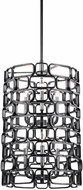 Uttermost 21531 Becton Modern Matte Black & Polished Nickel Foyer Lighting