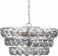 Uttermost 21532 Twinkle Contemporary Polished Nickel Ceiling Pendant Light