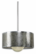 Uttermost 21953 Kenza 18 Inch Diameter Chrome Plated Modern Pendant Lighting