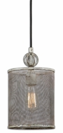 Uttermost 22003 Pontoise 13 Inch Tall Mesh Screen Mini Pendant Lamp