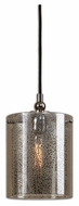 Uttermost 22005 Mariano 12 Inch Tall Flecked Mercury Glass Modern Mini Pendant