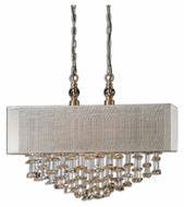 Uttermost 22033 Santina 24.25  Tall Kitchen Island Lighting