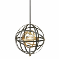 Uttermost 22038 Rondure Contemporary Dark Oil Rubbed Bronze Finish 22.5  Wide Lighting Pendant