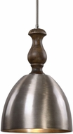 Uttermost 22078 Luna Contemporary Spun Aluminum Hanging Light Fixture