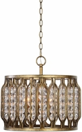 Uttermost 22111 Jensen Modern Silver Swedish Iron Drop Lighting
