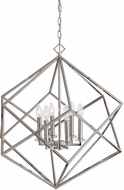 Uttermost 22122 Euclid Modern Polished Nickel Pendant Light