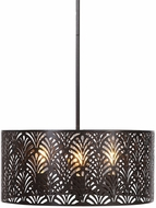 Uttermost 22157 Myrtle Oil Rubbed Bronze Drum Hanging Light