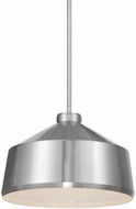 Uttermost 22177 Holgate Contemporary Brushed Nickel Hanging Lamp