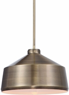 Uttermost 22178 Holgate Modern Oxidized Aged Brass Hanging Light