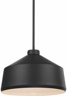 Uttermost 22179 Holgate Contemporary Matte Black Pendant Light Fixture