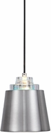Uttermost 22185 Pratt Contemporary Brushed Nickel Mini Pendant Lighting Fixture