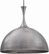 Uttermost 22189 Raynott Contemporary Brushed Nickel Hanging Light Fixture