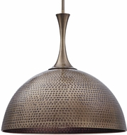 Uttermost 22190 Raynott Contemporary Antique Brass Drop Lighting