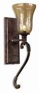Uttermost 22418 Galeana Traditional 24 Inch Tall Torch Wall Sconce Lighting
