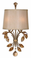 Uttermost 22487 Alenya Traditional Burnished Gold 22 Inch Tall Wall Sconce Lighting
