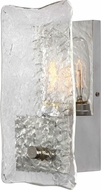 Uttermost 22498 Cheminee Modern Brushed Steel Wall Lamp